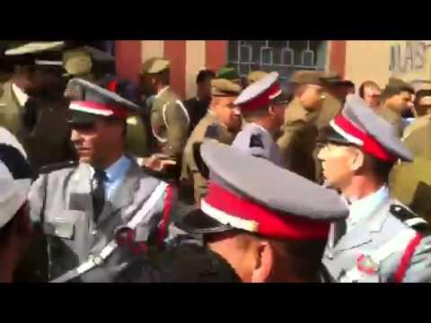 بالفيديو:هكذا استقبلت ساكنة أيت عميرة الوزير الخلفي