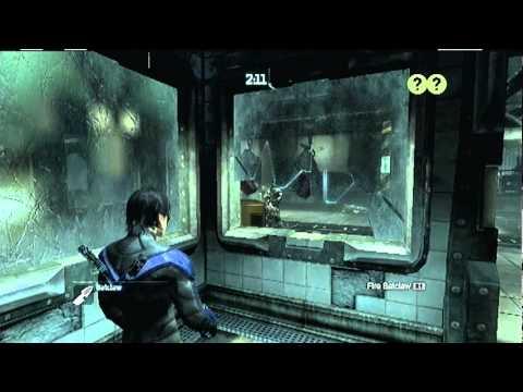 Batman Predator Challenges Arkham City Batman Arkham City Nightwing