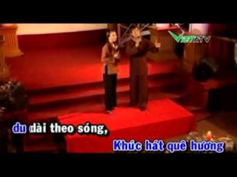 karaoke:NẮNG ẤM QUÊ HƯƠNG -Anh Dũng - Thu Hà (song ca cho nữ)