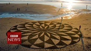 Massive Beach Art