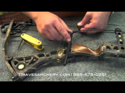 How to Install the LimbSaver String Decelerator by Draves Archery