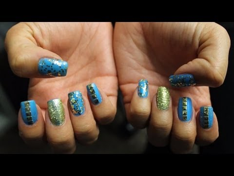Hottest Nail Trends with ReNailz: How to do Nail Wraps, Studs & The Stiletto Shape!