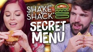 Shake Shack SECRET MENU Items! (Cheat Day)