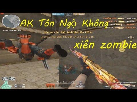 [ Bình Luận CF ] AK-47 Knife-Tôn Ngộ Không - Tiền Zombie v4