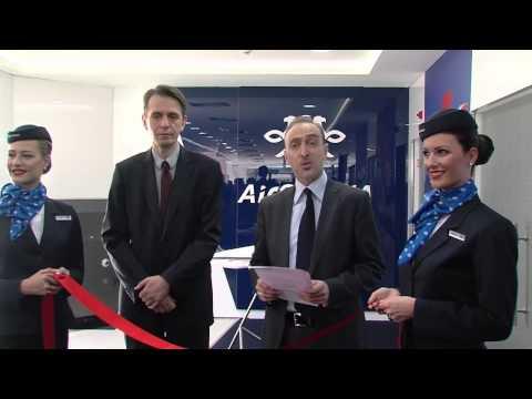 Air Serbia launches travel shop in Belgrade.