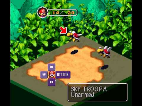 Super Mario RPG - Legend of the Seven Stars - Super Mario RPG  - Legend of the Seven Stars (SNES) - Vizzed.com Laggy Play - User video
