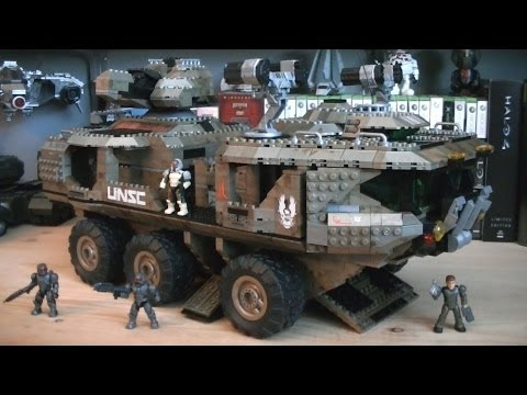 Halo Mega Bloks 97174 UNSC Mammoth (Signature Series) Review