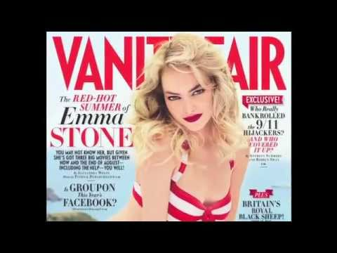"Emma Stone 2011 Vanity Fair Photoshoot ""Fun in the Sun"""