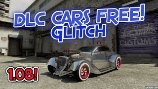 GTA 5 Online *After 1.08!* Get DLC Cars Glitch