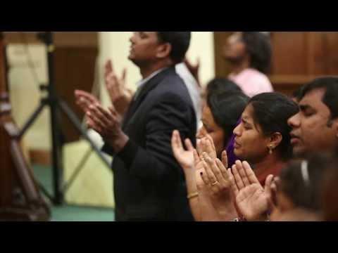Bro. Praveen Kumar @ Bethel Ministries Telugu Church - 4th Anniversary - Ethaina Konda Paina