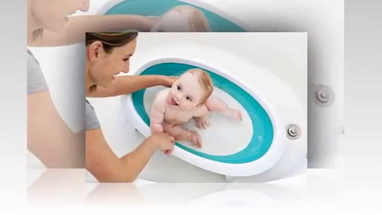 boon naked collapsible baby bathtub youtube. Black Bedroom Furniture Sets. Home Design Ideas