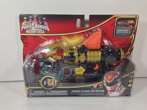 Review: Power Ranger Blaster (Power Rangers Megaforce), Blog Post: http://wp.me/pJgaa-12X Buy from CS Toys: http://tinyurl.com/9lc676o --- Power Ranger Blaster. How generically named! This leads me to believe the ...