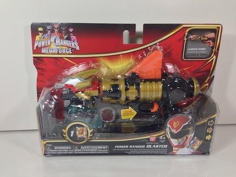 Review: Power Ranger Blaster (Power Rangers Megaforce)