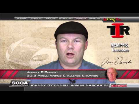 Johnny O'Connell Interviewed on The Racing Insiders