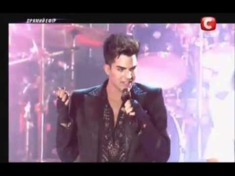 The Show Must Go On - Adam Lambert QUEEN Kiev Ukraine  6/30/12
