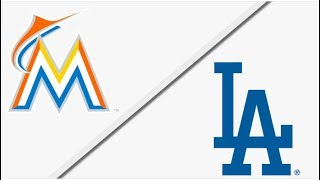 Miami Marlins vs Los Angeles Dodgers | Full Game Highlights | 4/25/18