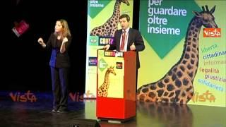 ORLANDO SOLO CON UNITA FORZE POLITICHE PASSO AVANTI CONTRO ILLEGALITA 24-10-14