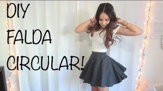 Como hacer una Falda Circular