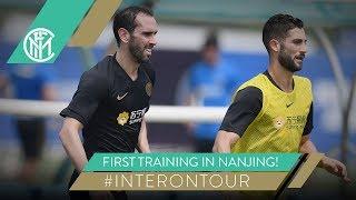 FIRST TRAINING IN NANJING! | #INTERONTOUR | INTER PRE-SEASON 2019/20 ⚫???
