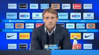 Inter, Mancini: 'Lavezzi più difficile di Shaqiri'
