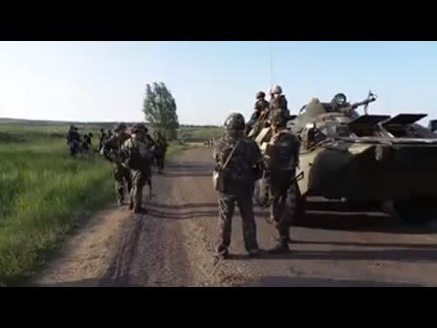 Ukrainian Paratroopers During ATO Near Sloviansk Ukraine, May 16 2014