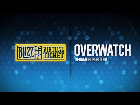 BlizzCon 2018 Virtual Ticket - Overwatch: In-Game Item Reveal