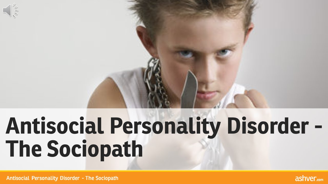 the causes and manifestation of anti social personality disorder People with the disorder may be homeless, living in poverty, suffering from a concurrent substance abuse disorder, or piling up extensive criminal records, as antisocial personality disorder is associated with low socioeconomic status and urban backgrounds.