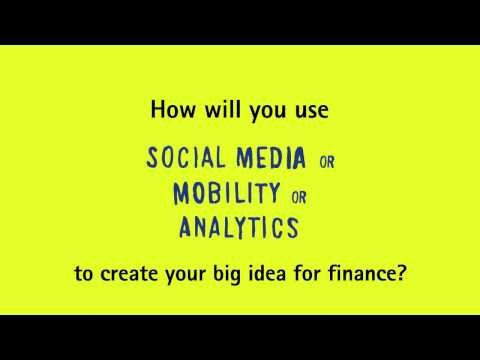 Got an idea that will change the finance industry? - YouTube