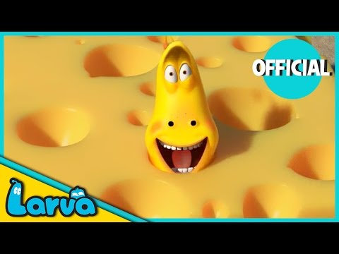 LARVA - CHEESE | 2017 Full Movie Cartoon | Cartoons For Children | LARVA Official