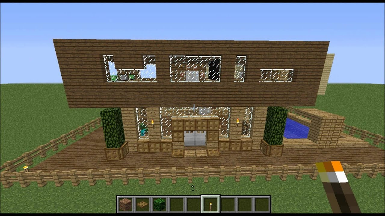 Minecraft Maison Moderne. Stunning Maison Minecraft Japonaise With ...