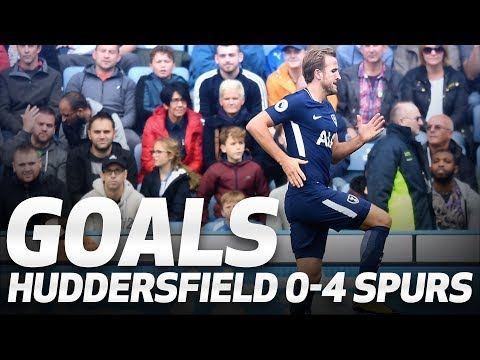 GOALS | Huddersfield Town 0-4 Spurs