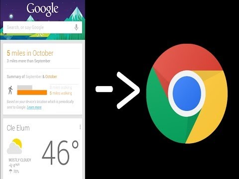 Google Now For Chrome!