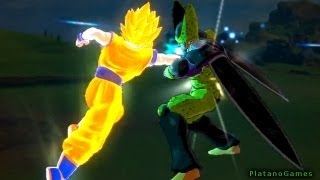 Dragon Ball Z Kai Cell Vs Goku Full Fight Cell Games