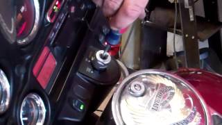 Ignition Switch Removal From A 2000 Harley Electra Glide