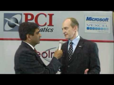 PCI Geomatics interviewed by GISCafe in ASPRS 2010 Event