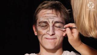 Schminken Zu Halloween: Alten Mann Schminken Leicht