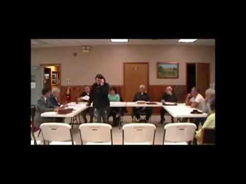 Altona Town Board Meeting 4-8-13