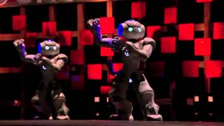 Ted Talks: Bruno Maisonnier: Dance, Tiny Robots!