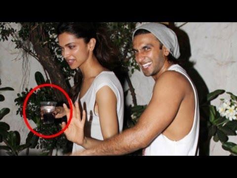 Deepika Padukone & Ranveer Singh's CAUGHT DRUNK