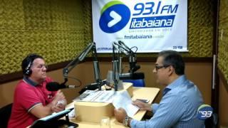 Entrevista do presidente Jamisson Barbosa na Fm Itabaiana - 25/01/2017