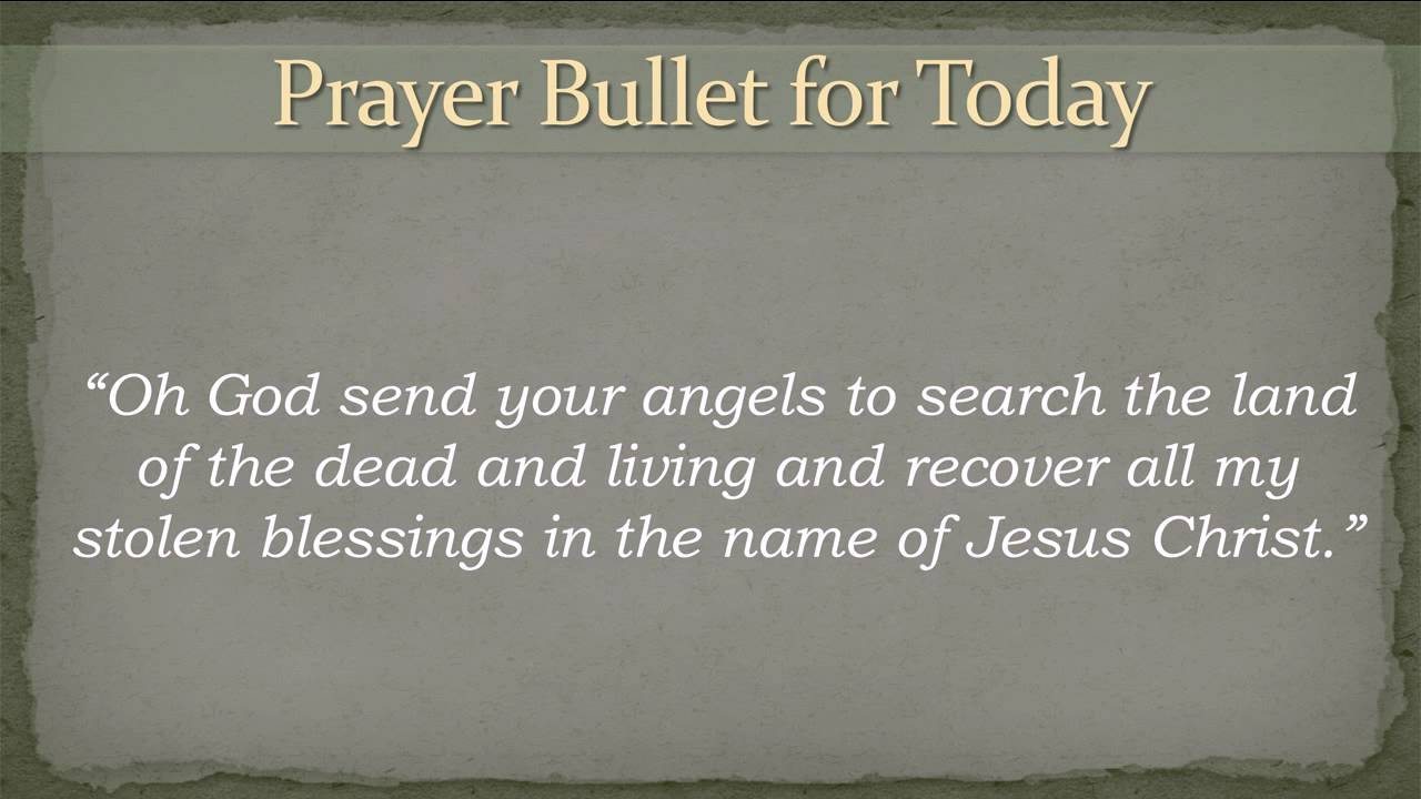 Thanksgiving Prayer Points Elisha Goodman YouTube - mandegar info