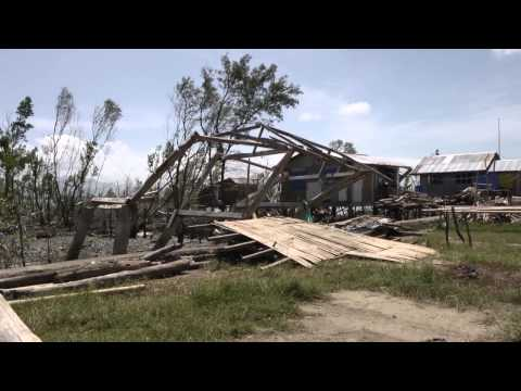 4 months after Haiyan, Philippines