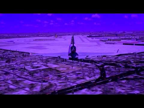 FedEx MD11F Landing at Minneapolis in Winter FSX HD