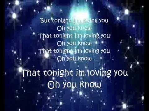 Lyrics of tonight enrique