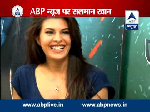 Salman Khan and Jacqueline talk about Kick on ABP News