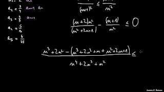 Lastnosti zaporedij – naloga 4