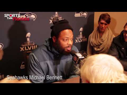 Seattle Seahawks Michael Bennett on Denver Broncos Peyton Manning