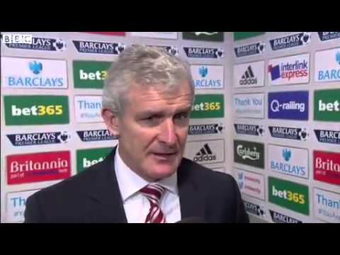Mark Hughes Post Match Interview   Stoke 3 2 Chelsea