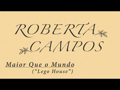 Roberta Campos - Maior Que o Mundo (Lego House) (Lyric Video)