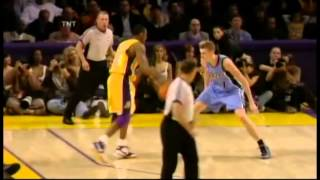 Kobe Bryant 52 Points In 3 Quarters Vs Utah Jazz (30 In